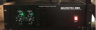 Potencia Macrotec 2400w (1200 + 1200)
