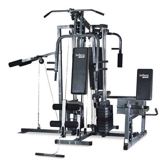 Multigimnasio Zellens Ze 2800 Fitness Profesional 130kg N