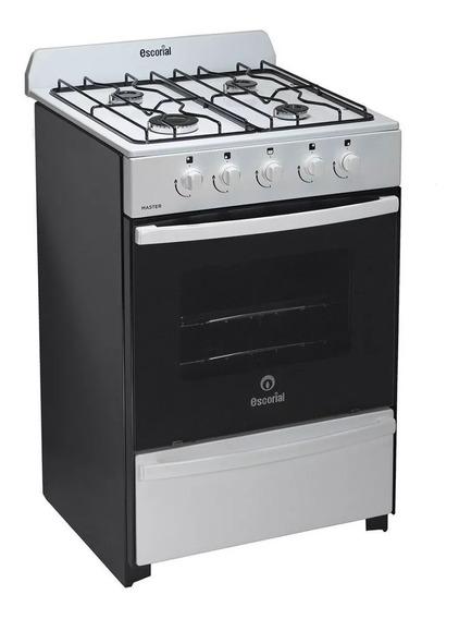 Cocina Escorial 4 Hornallas Master Multigas 4 Hornallas 56cm