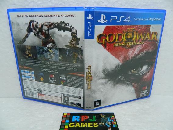 God Of War Remasterizado Original Midia Fisica C/ Caixa P/ Ps4 Playstation 4 - Loja Centro Rj