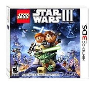 Lego Star Wars Iii The Clone Wars 3ds - Juego Físico 3ds
