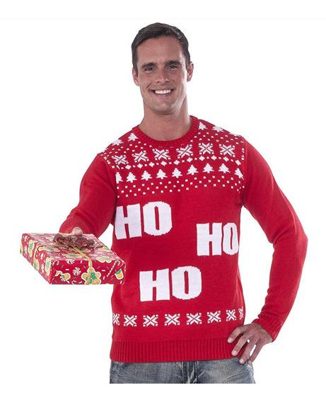 Suéter Feo Navidad Christmas Ugly Sweater Ho Hombre Talla L