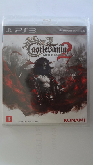 Castlevania 2 Lords Of Shad Ps3 (black Label) Novo E Lacrado