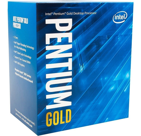 Processador Intel Pentium Gold G5400 3.7ghz Lga 1151 8a Ger