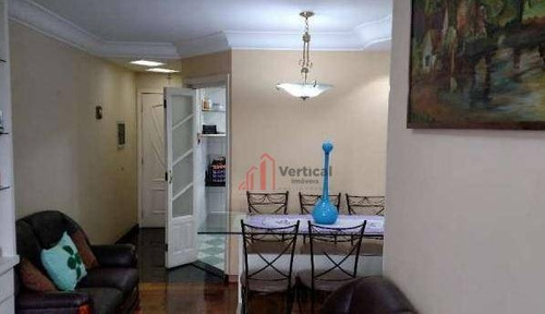 Apartamento Com 3 Dormitórios À Venda, 71 M² Por R$ 550.000,00 - Tatuapé - São Paulo/sp - Ap5973