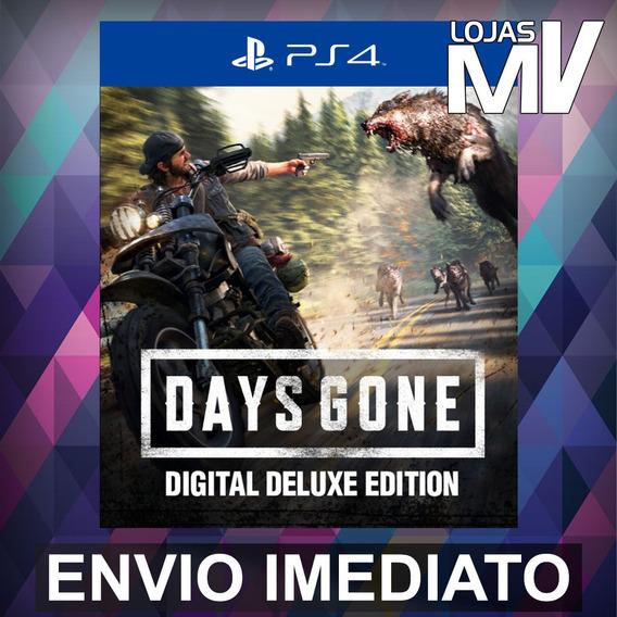 Days Gone Digital Deluxe - Ps4 Código 12 Dígitos