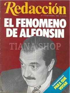 Redacción Sept 1982_el Fenómeno Raúl Alfonsín_para Que Votar