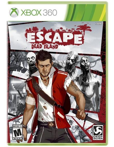Jogo Midia Fisica Novo Lacrado Escape Dead Island Xbox 360