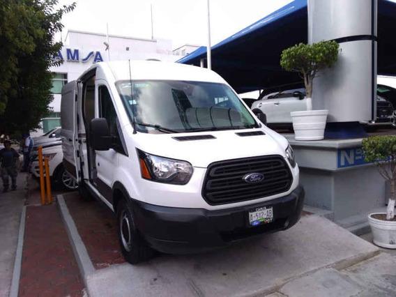 Ford Transit Van Mediana Techo Alto Gas/gasolina