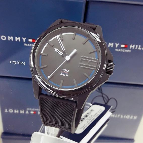 Relógio Tommy Hilfiger 1791623 Silicone Borracha Preto