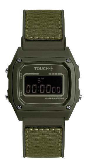 Relógio Unissex Touch Verde Twjh02bt/8v