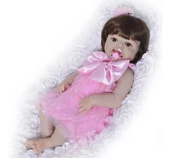 Vestido Renda Bebe Reborn Menina Pronta Entrega Coisa Linda
