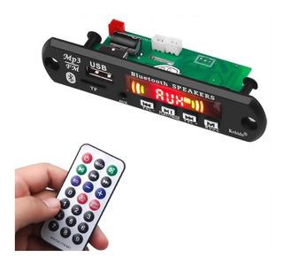 Modulo Reproductor Mp3 Manos Libres Bluetooth Amplificado 6w