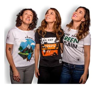 Camiseta Ecológica Wwf Colombia Mujer
