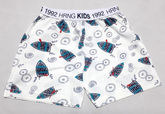 Shorts De Pijama Infantil Masculino Hering - Cód. 2799