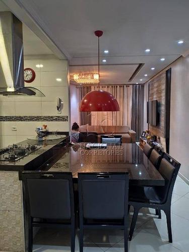 Casa Com 3 Dormitórios À Venda, 247 M² Por R$ 840.000,00 - Vila Camilópolis - Santo André/sp - Ca3037
