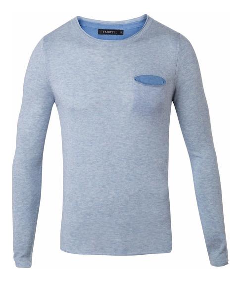 Sweater Rick Entallado Lana Fina - Quality Import Usa
