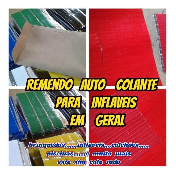 Kit Reparo Auto Colante P/inflaveis Piscinas C/frete Gratis
