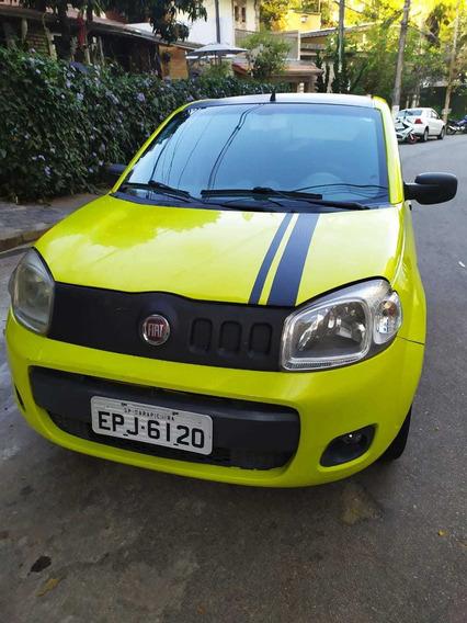 Fiat Uno 2011 Attractive 1.4 Flex Completo + Barato Da Web
