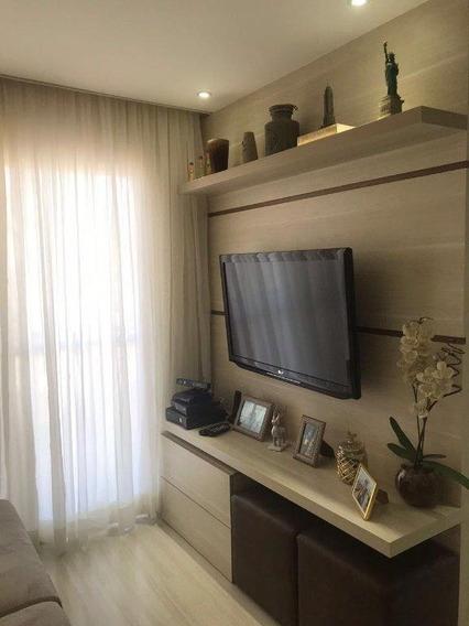Residencial Marselha Apartamento Com 2 Dormitórios Para Alugar, 52 M² Por R$ 1.900/mês - Jardim Belval - Barueri/sp - Ap2227