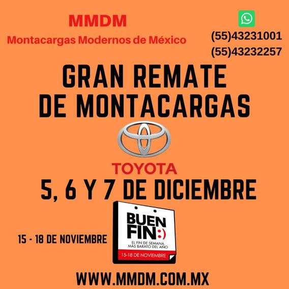 Montacargas Seminuevo Toyota 1,800 Kgs 2014 275,000
