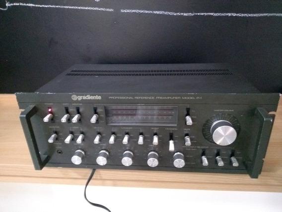 Pré Amplificador Gradiente P1 Systen One Revisado