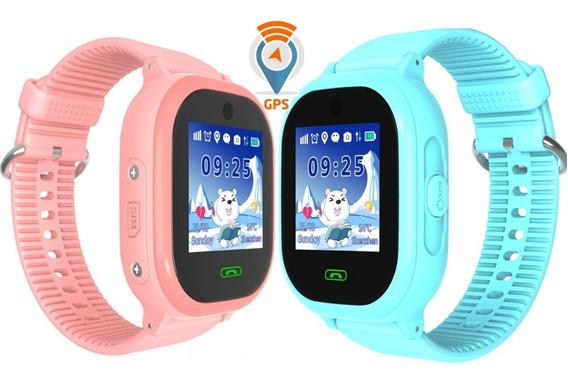 Gps Reloj Smartwatch Localizador Contra Agua Niño