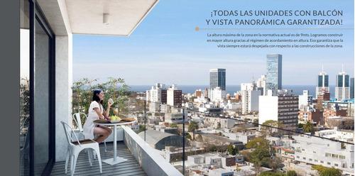 Un Dormitorio, Balcón, Frente, Amenities