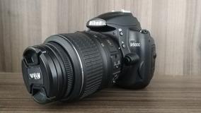 Câmera Dslr Nikon D5000 Com Lente 18-55mm