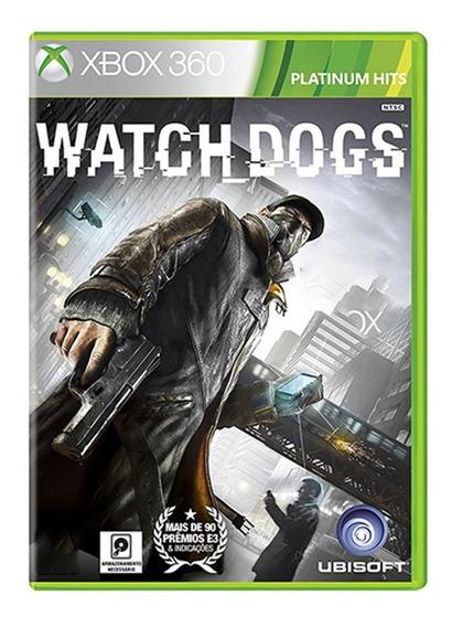 Watch Dogs - Xbox 360 - Usado - Original