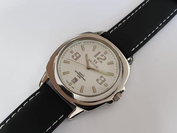 Relógio Masculino Seculus 44361515lbssb Swiss Made