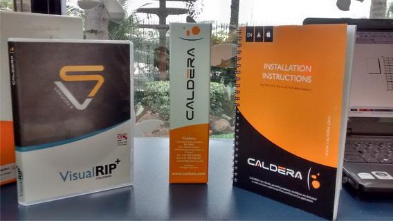 Software Visualrip+ Caldera - Versão 9, Original Com Dongle