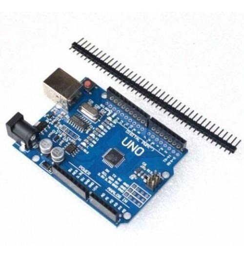 Placa Uno R3 Smd (compatível Com Arduino)