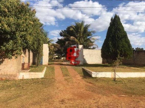 Chácara Com 2 Dormitórios À Venda, 11000 M² Por R$ 750.000,00 - Dom Pedro I - Londrina/pr - Ch0002