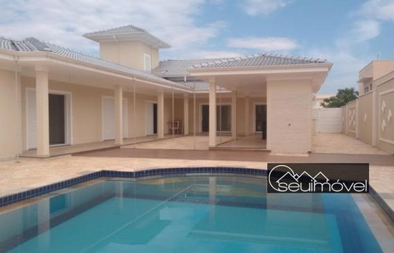 Casa Com 4 Dormitórios À Venda, 404 M² Por R$ 1.300.000,00 - Condomínio Palmeiras Imperiais - Salto/sp - Ca0430