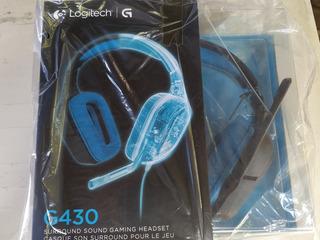 Auriculares Logitech G430 7.1 Nuevo Sin Ningún Uso.