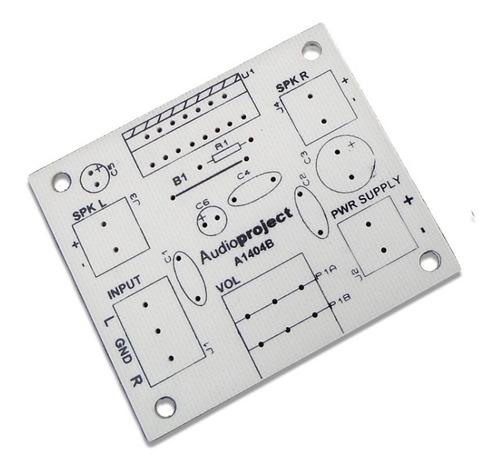 Circuito Impreso Amplificador 20+20 Ó 38+38 W - Audioproject