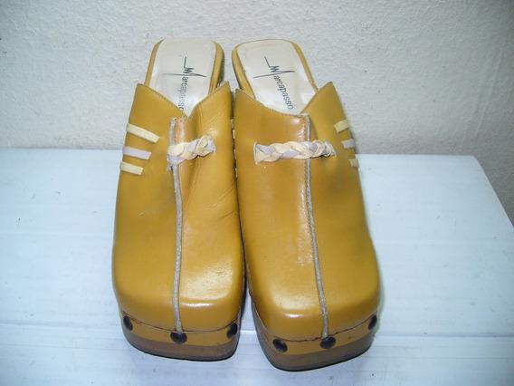 108 - Tamanco Amarelo N 35 Marcapasso