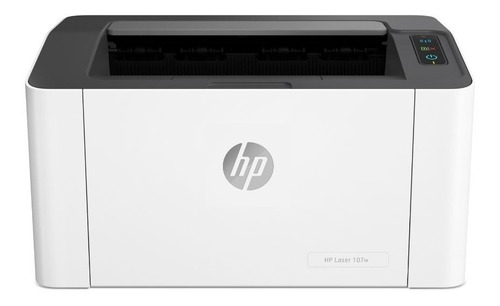 Imagen 1 de 10 de Impresora Hp Laser Monocromatica M107w Wi-fi 20 Ppm Cuotas Tienda Oficial Hp