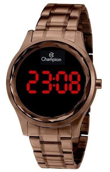 Relógio Champion Lançamento Digital Cobre Redondo Cx E N.f
