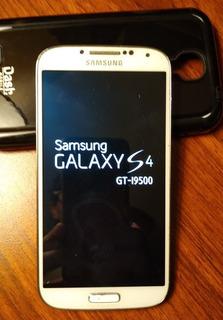 Líquido Impecable Celu Samsung S4 Blanco!!
