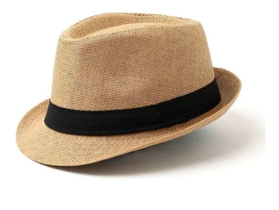 Combo 5 Sombreros Rafia Tanguero, Panameño, Vaquero