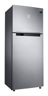 Geladeira inverter frost free Samsung RT46K6261S8 inox look com freezer 453L 220V