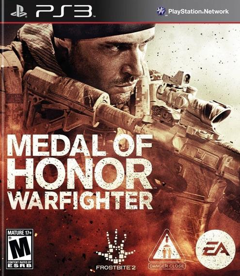 Medal Of Honor Warfighter Ps3 Via Psn Original