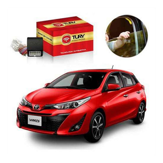 Módulo Subida De Vidros Toyota Yaris Park4.21cl Plug Play