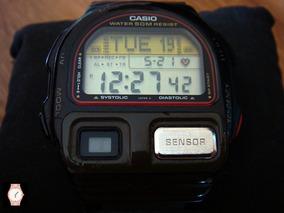 Raro Reloj Casio Bp-100 Sensor Made In Japan