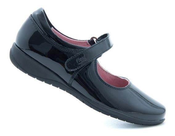 Flexi Niña Zapato Escolar 35902 Black 100% Originales