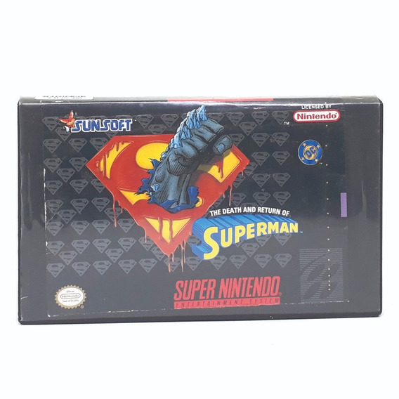 Death And Return Of Superman! Loja Física!! Parcele S Juros!