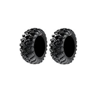 Pair Of Gbc Grim Reaper Radial (8ply) Atv Tires [26x9-14] (2