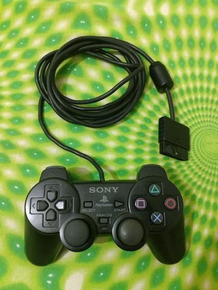 Controle Playstation 2 A Ou H Genuíno Original Fábrica Sony